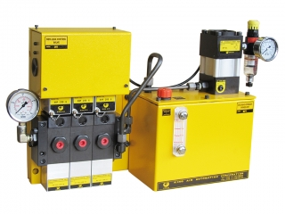 Three Circuits Power Unit - BP Series - Power Unit - PC Board